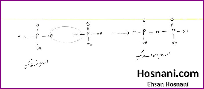 Diphosphoric acid (H4P2O7) is the first condensation product of phosphoric acid (H3PO4)