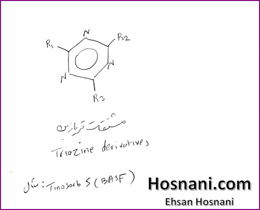 The best known triazines are derivatives of the 1,3,5 triazine derivatives