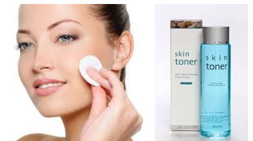 apply skin toner