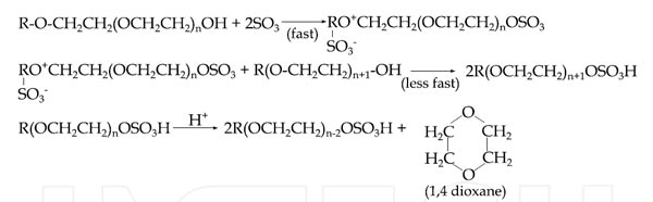 1,4-dioxane formation