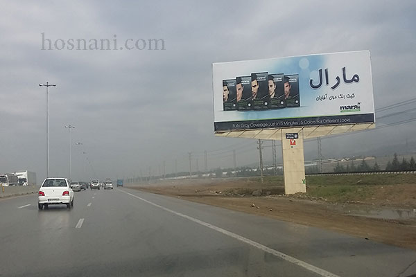 maral hair color billboard