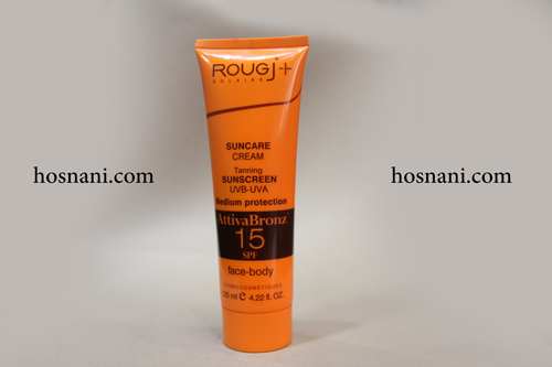 rougj sunscreen